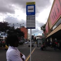 Paradero SITP Corferias - 035A06 en Bogotá