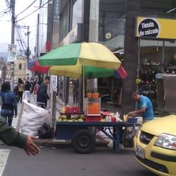 Mandarinazo en Bogotá
