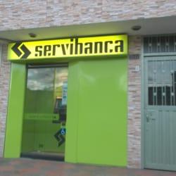 Cajero Servibanca Calle 57B en Bogotá