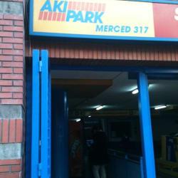 Estacionamiento Aki Park - Merced en Santiago