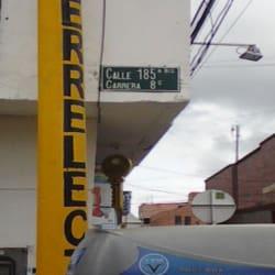Ferrelectricos Calle 185A Bis en Bogotá
