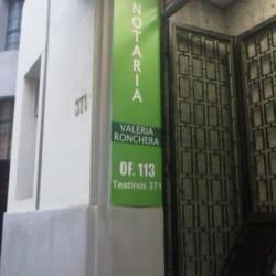 Notaría Ronchera en Santiago