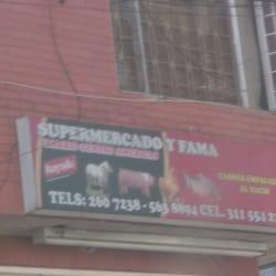 Supermercado y Fama Berlín en Bogotá