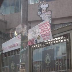 Restaurante Nina en Bogotá