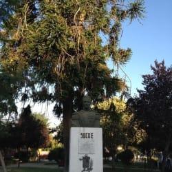 Plaza Sucre en Santiago
