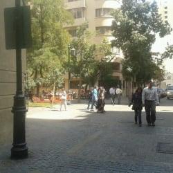 Plaza Valentin Letelier en Santiago