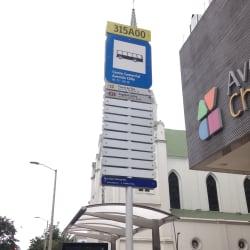 Paradero SITP Centro Comercial Avenida Chile - 315A00 en Bogotá