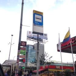 Paradero SITP Estación Paloquemao - 126A00 en Bogotá