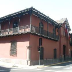 Casa de Velasco en Santiago
