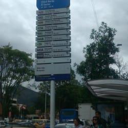 Paradero SITP Barrio Chicó Norte II Sector - 214A00 en Bogotá
