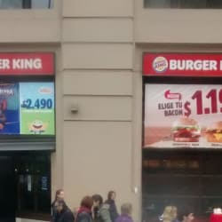 Burger King - Alameda en Santiago