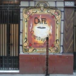 Café Constituyente en Santiago