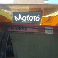 Mataró Restaurant en Santiago