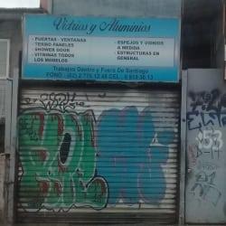 Vidrios y Aluminios Las Rejas en Santiago