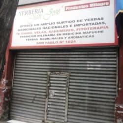 Yerbería San José en Santiago