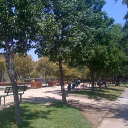 Parque San Eugenio en Santiago