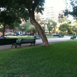 Plaza Ambrosio del Rio en Santiago