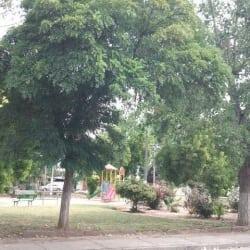 Plaza Aysen en Santiago