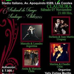 """Milonga """"Son de Tango"""" en Stadio Italiano en Santiago"""