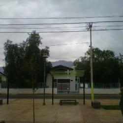 Plaza Puerta de Hierro en Santiago