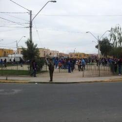 Plaza Las Golondrinas en Santiago