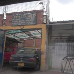 Autolavado Centro Américas en Bogotá