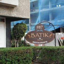 Batik Restaurante en Bogotá