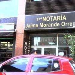Notaría Jaime Morales Orrego en Santiago