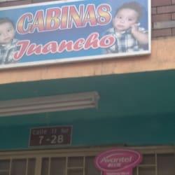 Cabinas Juancho en Bogotá