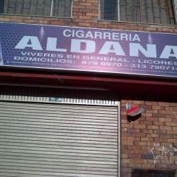 Cigarreria aldana en Bogotá