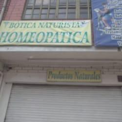 Botanica Naturista Homeopatica en Bogotá