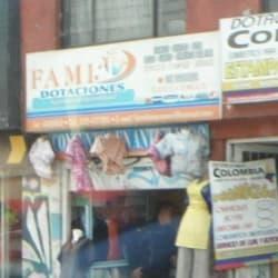 Famidotaciones en Bogotá