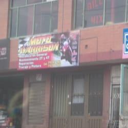 Moto Harrinson en Bogotá