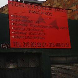 Pegantes Especializados Para Pisos en Bogotá