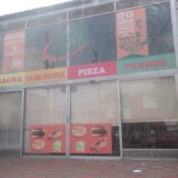 Rica's pizza en Bogotá