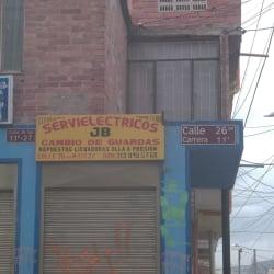 Servielectricos J.B en Bogotá