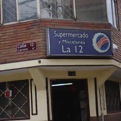 Supermercado y Miscelania la 12 en Bogotá