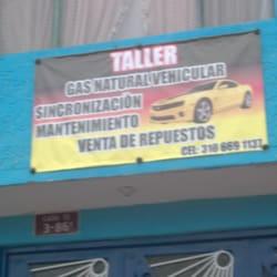 Taller Gas Natural Vehicular en Bogotá