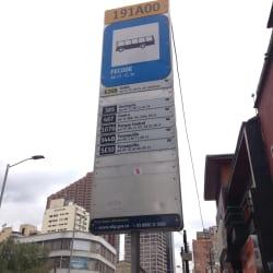 Paradero SITP FECODE - 191A00 en Bogotá