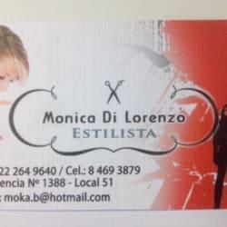 Mónica Di Lorenzo en Santiago