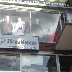 Alta costura Diana Moreno diseñadora en Bogotá