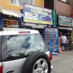 Autoalarmas y Espejos Todocars en Bogotá