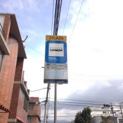 Paradero SITP Bonanza - 201A04 en Bogotá