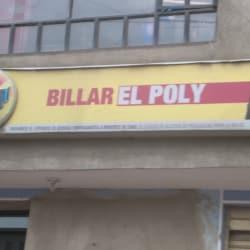 Billar El Poly en Bogotá