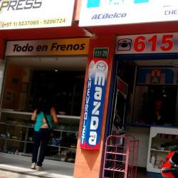 Brakexpress en Bogotá