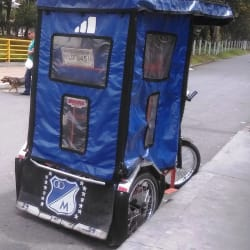 Bici Taxi # 15 en Bogotá
