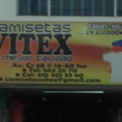 Camisetas Vitex en Bogotá