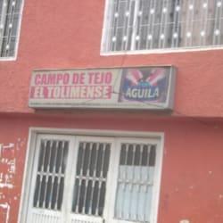 Campo de Tejo El Tolimense en Bogotá