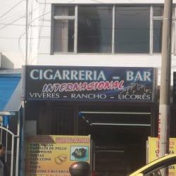 Cigarreria bar internacional en Bogotá