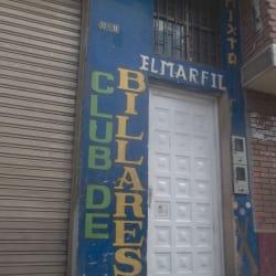 Club Billares El Marfil en Bogotá
